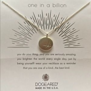Dogeared One in a Billion Sparkle Star Necklace